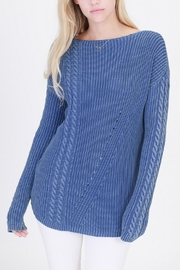 HYFVE Cable-Knitted Oversized Sweater - Product Mini Image