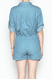 HYFVE Chambray Romper - Back cropped
