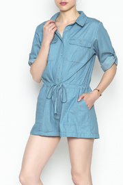 HYFVE Chambray Romper - Side cropped