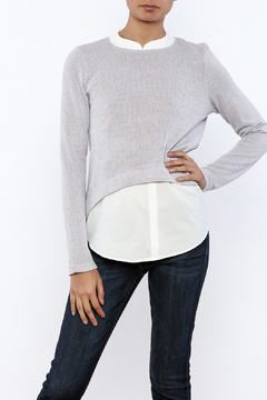 Shoptiques Product: Collared Sweater Shirt