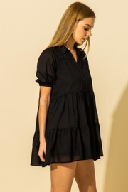 HYFVE Collared  Tiered Mini Dress - Other