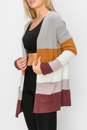 HYFVE Colorblock Cardigan - Front cropped