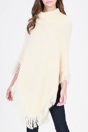 HYFVE Cream Poncho - Product Mini Image