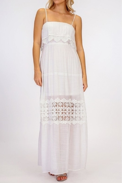 Shoptiques Product: Crochet Maxi Dress