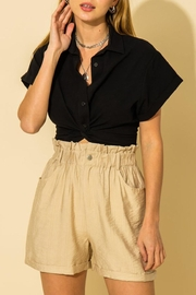 HYFVE Cropped Oxford Top - Other