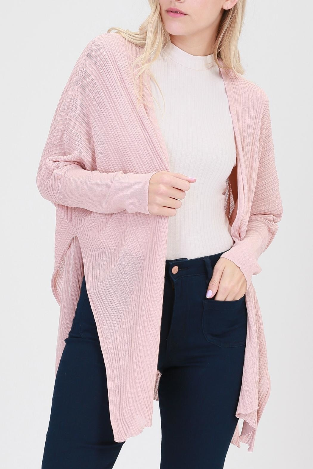 HYFVE Dolman-Sleeve Cardigan - Front Cropped Image