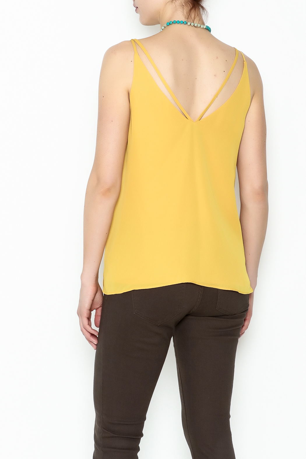 HYFVE Double Strap Top - Back Cropped Image
