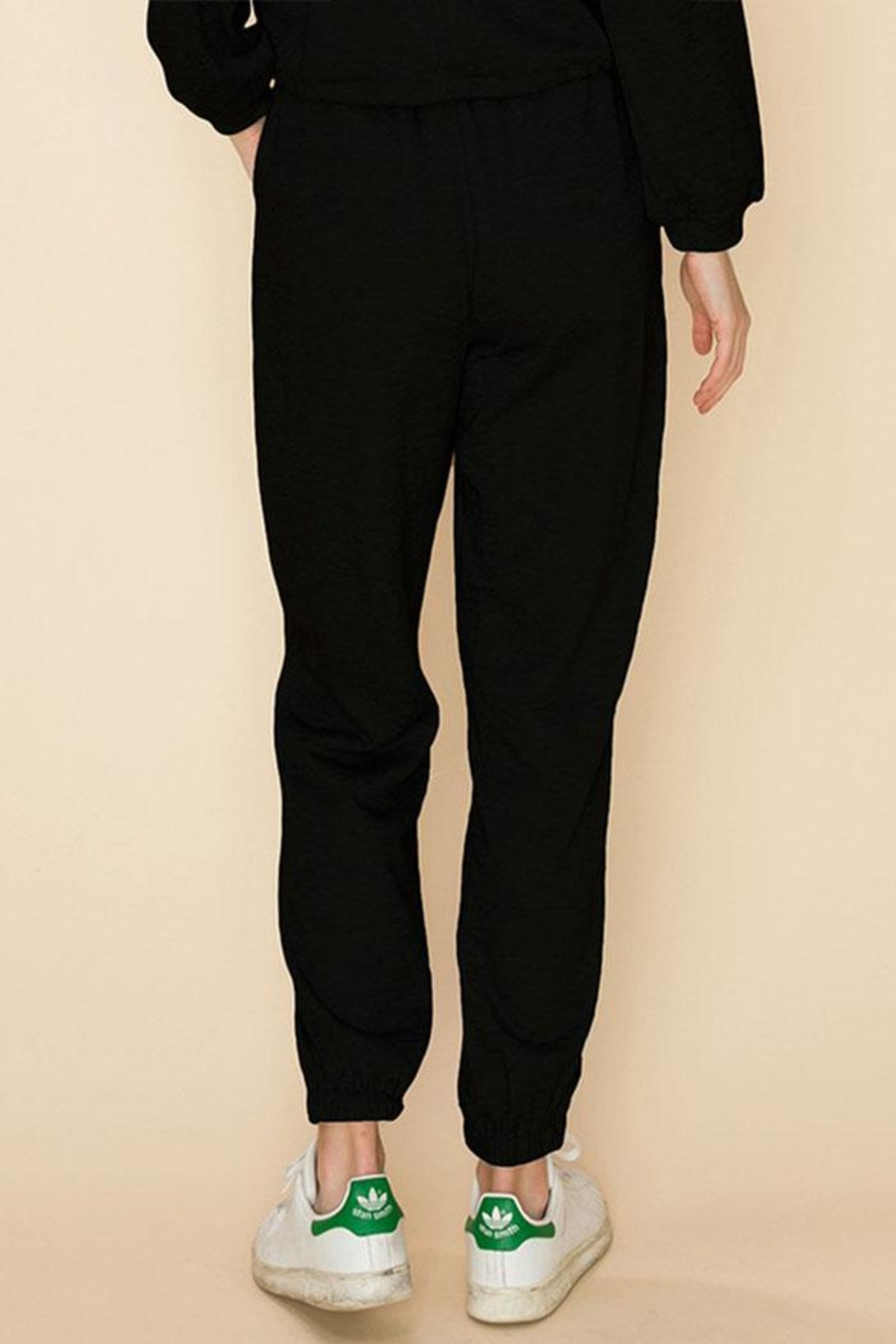 HYFVE Drawstring Jogger Pants - Back Cropped Image