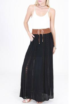 Shoptiques Product: Embroidered Maxi Skirt