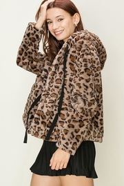 HYFVE Faux-Fur Leopard Jacket - Product Mini Image
