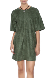 HYFVE Faux Suede Dress - Product Mini Image