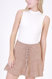 HYFVE Faux Suede Skirt - Product Mini Image