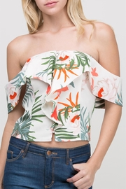 HYFVE Floral Ots Top - Product Mini Image