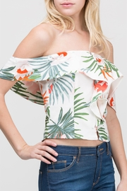 HYFVE Floral Ots Top - Front full body
