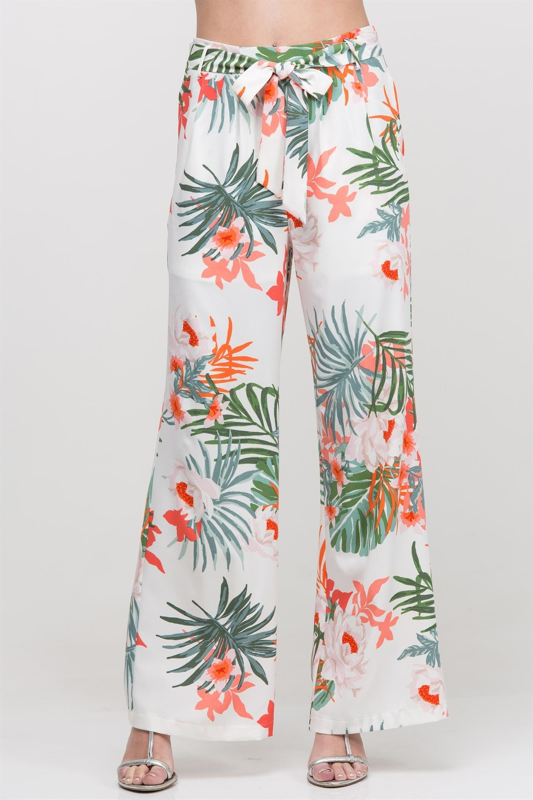 HYFVE Floral Pant - Front Full Image
