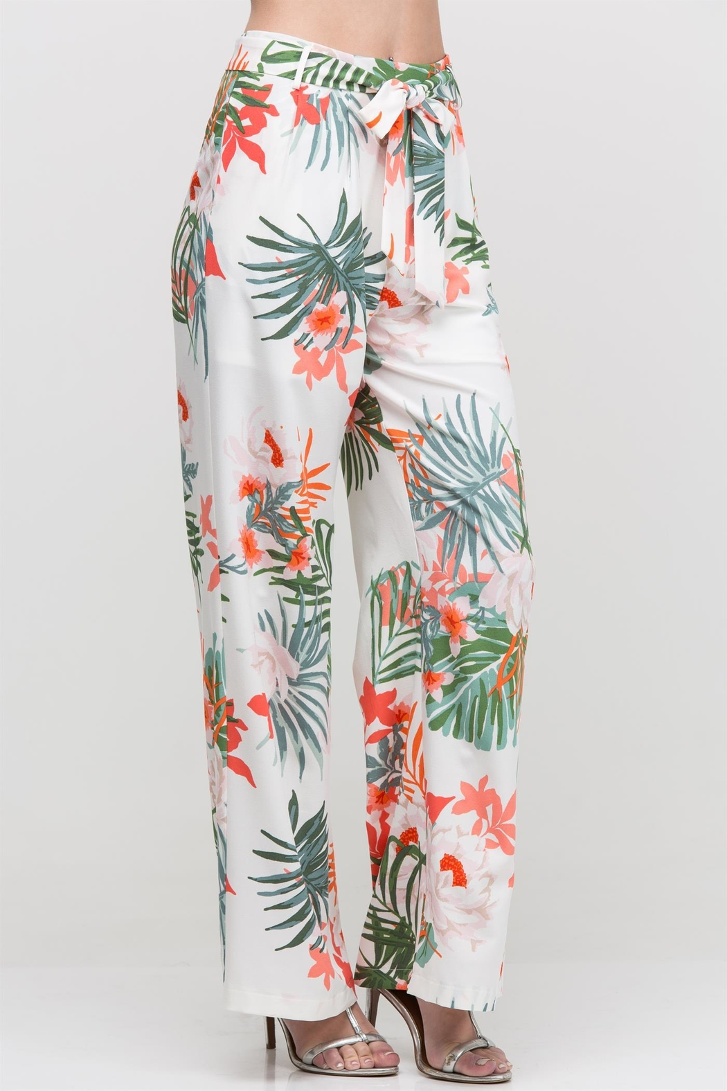 HYFVE Floral Pant - Front Cropped Image