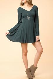 HYFVE Forest Green Dress - Product Mini Image
