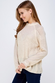 HYFVE Fray Collar Sweater - Side cropped