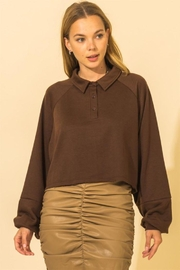 HYFVE French Terry Crop Top - Front cropped