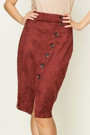 HYFVE Fuax Suede Skirt - Product Mini Image