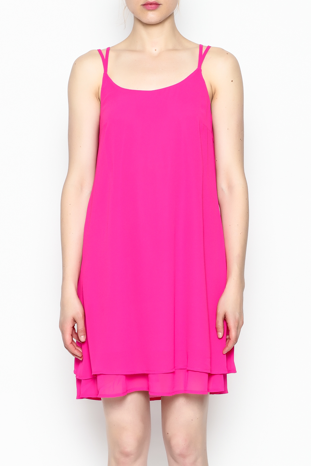 HYFVE Fuchsia Dress - Front Full Image