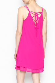 HYFVE Fuchsia Dress - Back cropped