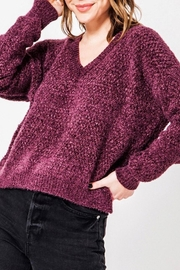 HYFVE Fuzzy Chenille Sweater - Front cropped