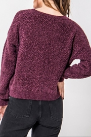 HYFVE Fuzzy Chenille Sweater - Front full body