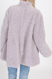 HYFVE Grey Faux Fur - Front full body
