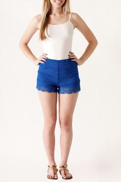 Shoptiques Product: High Waisted Crochet Shorts