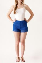 HYFVE High Waisted Crochet Shorts - Product Mini Image