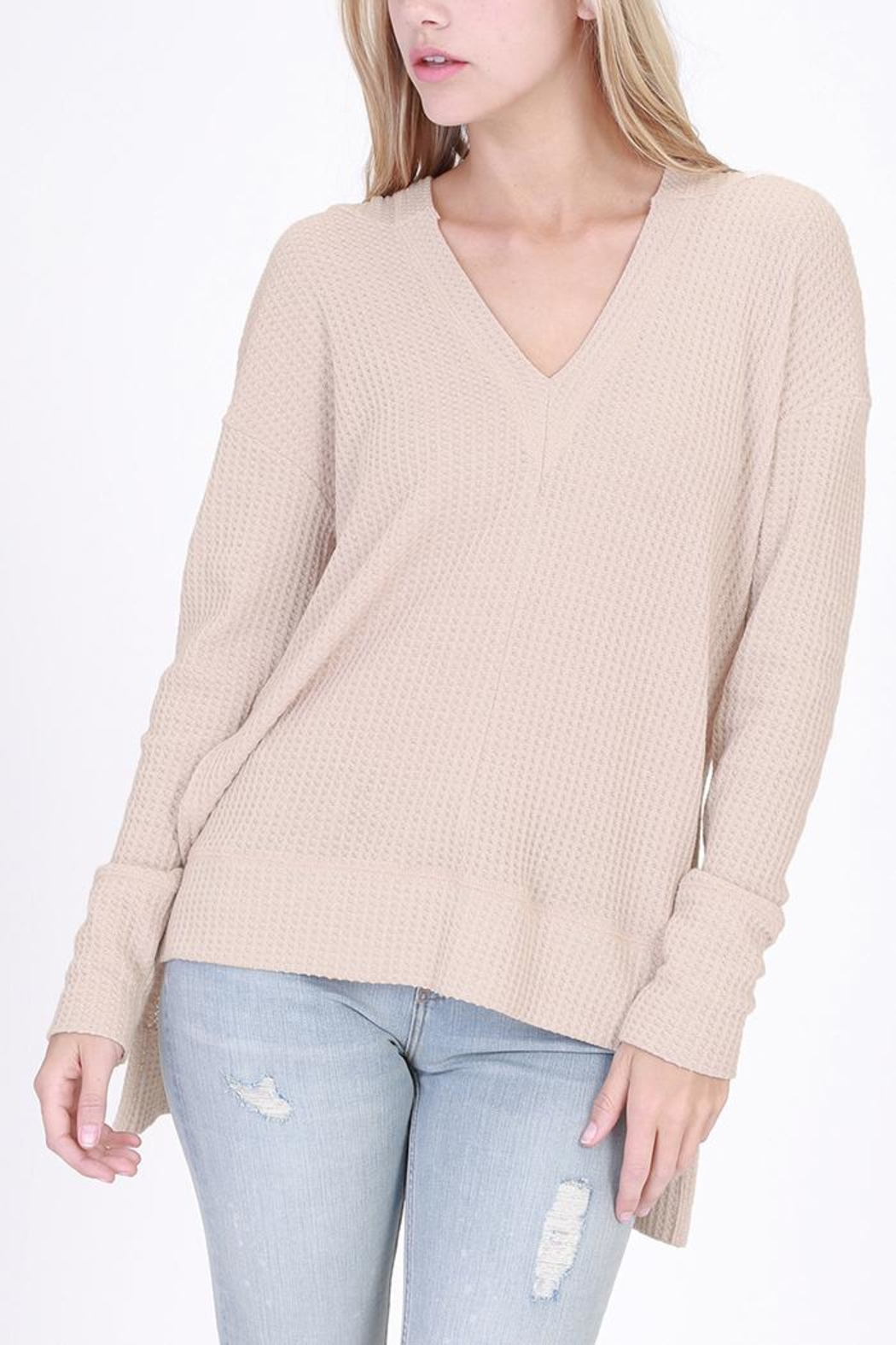 HYFVE Hooded Long-Sleeve Thermal - Front Cropped Image
