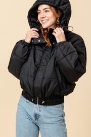 HYFVE Hooded Puffer Jacket - Product Mini Image