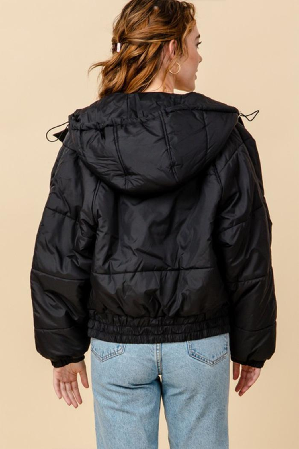HYFVE Hooded Puffer Jacket - Front Full Image