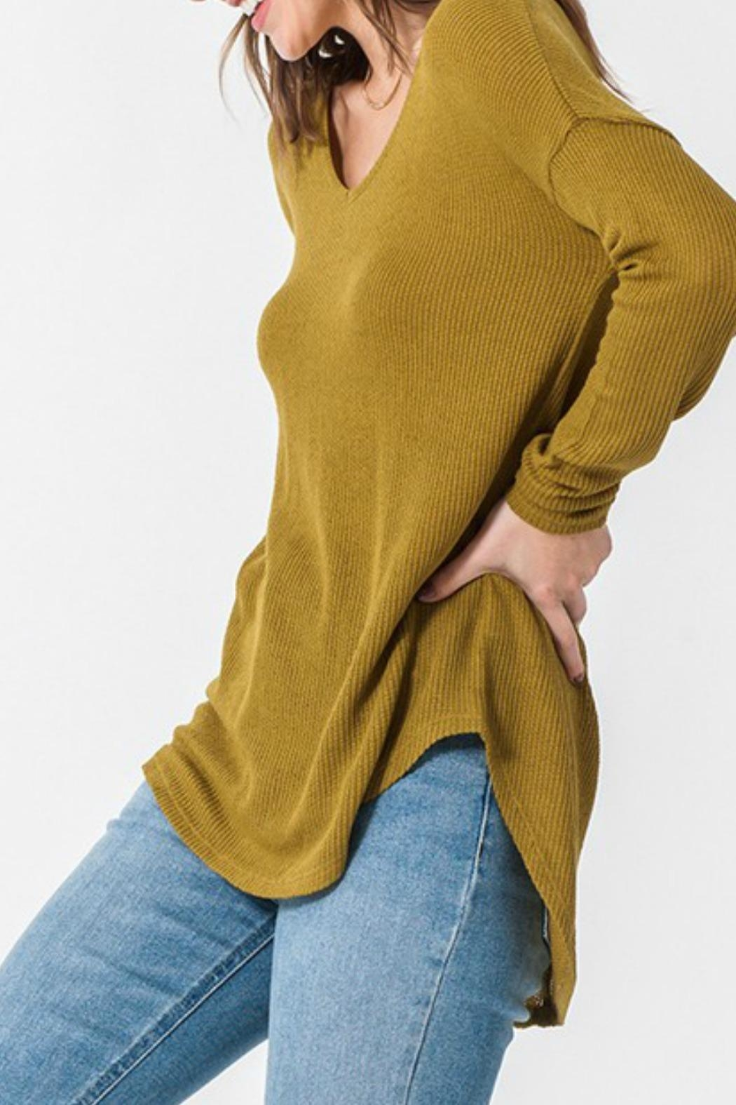HYFVE Jane Waffle Thermal - Side Cropped Image
