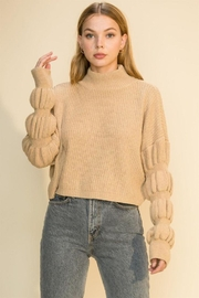 HYFVE Knitted Pullover Long Sleeve Sweater - Product Mini Image