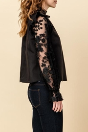 HYFVE Lace Sleeve Blouse - Front full body