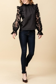 HYFVE Lace Sleeve Blouse - Product Mini Image