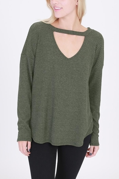 Shoptiques Product: Lace-Up Back Sweater
