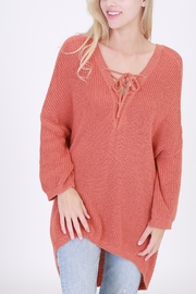 HYFVE Lace Up Sweater - Product Mini Image