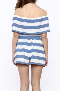 Shoptiques Product: Large Stripe Romper