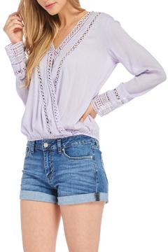 Shoptiques Product: Lilac Surplice Top