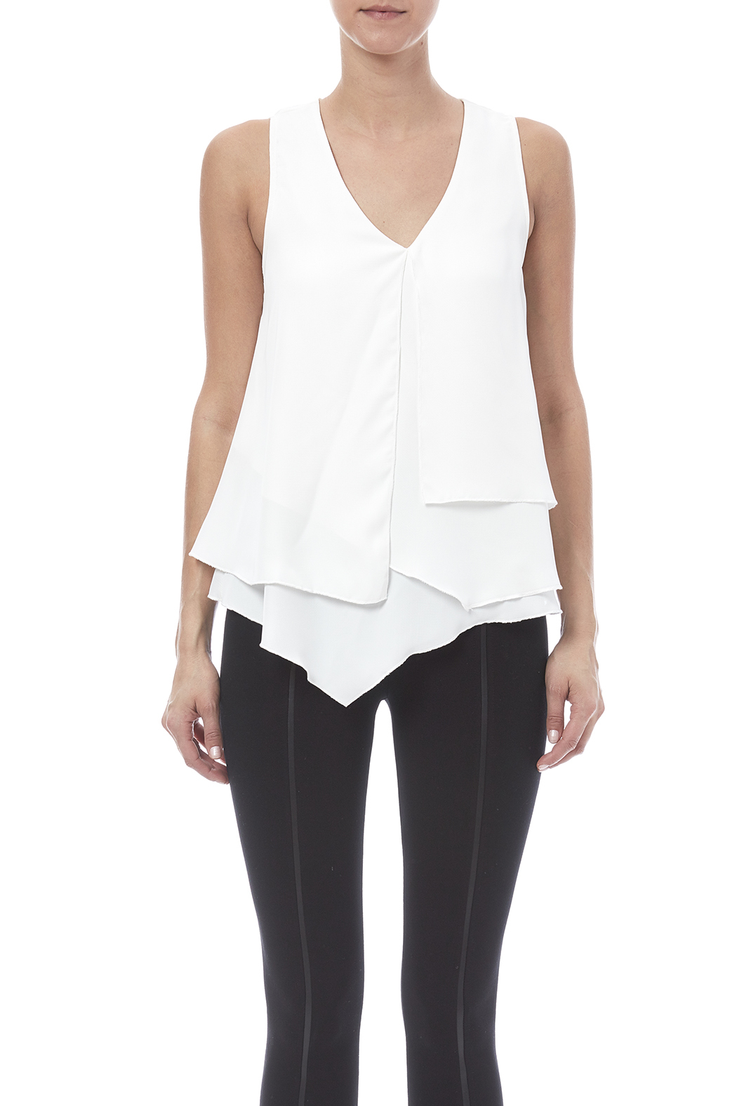 HYFVE Layered Look Blouse - Side Cropped Image