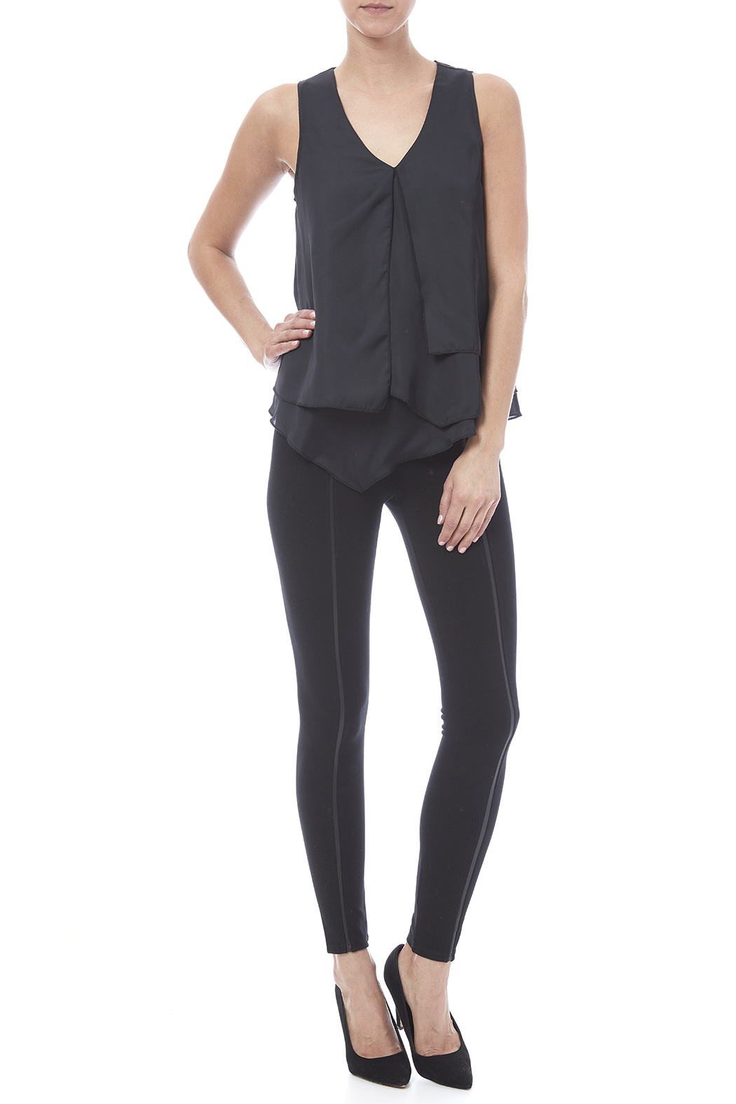 HYFVE Layered Look Blouse - Front Full Image