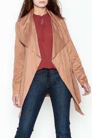 HYFVE Faux Suede Open Jacket - Product Mini Image