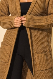 HYFVE Long Line Hooded Sweater - Other