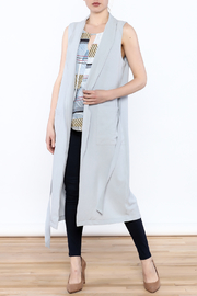 HYFVE Blue Long Vest - Product Mini Image