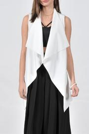 HYFVE Long White Vest - Front cropped