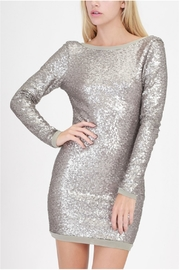 HYFVE Lowback Sequin Dress - Product Mini Image