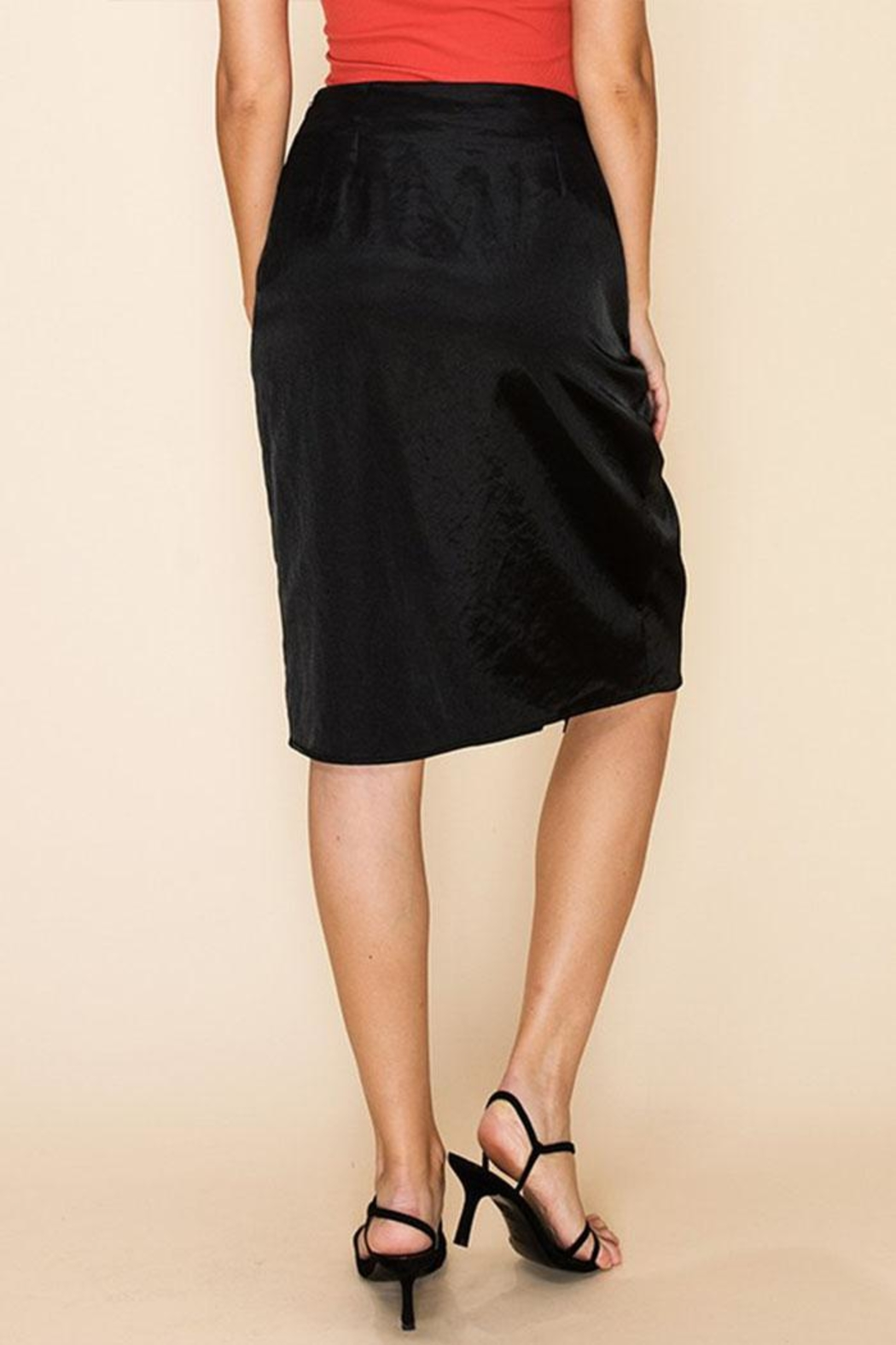HYFVE Midi Pencil Skirt - Side Cropped Image